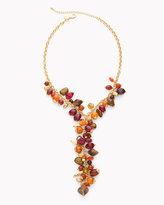 Chico's Scarlet Y-Necklace