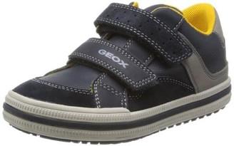 Geox J Elvis E Navy Grey Sandals - 32