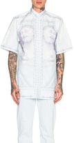 Givenchy Jesus Print Short Sleeve Shirt