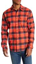 Diamond Supply Co. Holiday Plaid Flannel Trim Fit Shirt