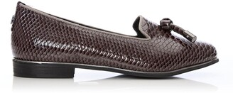 Moda In Pelle Eadlist Grey Snake Print