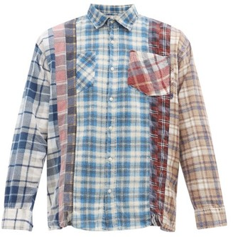 Needles 7 Cuts Upcycled Vintage Cotton-flannel Shirt - Mens - Multi