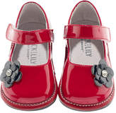 Jack & Lily Red Diamond Flower Mary Jane - Red, Size 30-36m