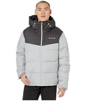 Columbia Iceline Ridgetm Jacket Grey/Shark) Men's Coat
