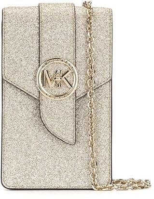 MICHAEL Michael Kors Glitter Detail Smartphone Crossbody Bag