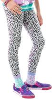 LittleMissMatched White Cheetah Leggings