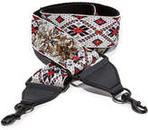 Rebecca Minkoff Jewel Stud Jacquard Adjustable Guitar Strap