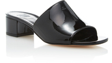 Maryam Nassir Zadeh Sophie Patent-Leather Slides