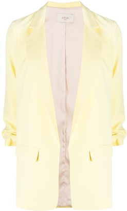 Altea Single Breasted Gathered Sleeve Blazer