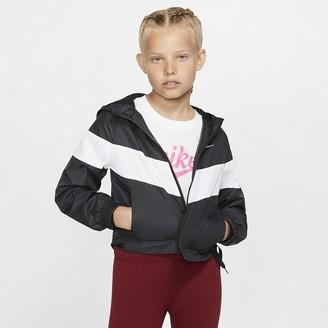 Nike Big Kids' (Girls') Jacket Sportswear Windrunner