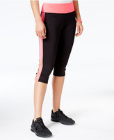 Material Girl Active Juniors' Crisscross Cropped Leggings, Only at Macy's