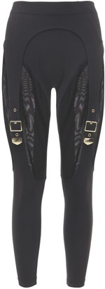 Adam Selman Sport Buckle Leggings