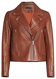 Rag & Bone Women's Mack Leather Biker Jacket