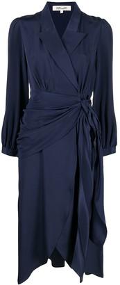 Diane von Furstenberg Stella faux-wrap midi dress