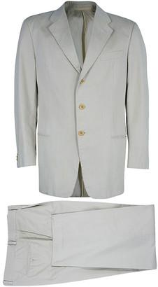Armani Collezioni Men's Beige Suit L