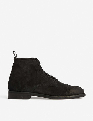 AllSaints Harland lace-up leather desert boots