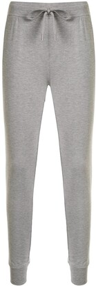 T By Alexander Wang Fitted Drawstring Track Pants