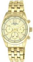 JCPenney Armitron All Sport Mens Gold-Tone Stainless Steel Chronograph Watch
