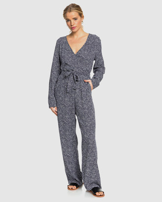Roxy Womens Morning Air Long Sleeved Jumpsuit