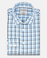 Le Château Check Cotton Twill Tailored Fit Shirt