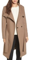 Trina Turk Women's Daphne Oversized Collar Coat