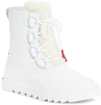 Sorel Joan of Arctic Genuine Shearling Trim Next Lite Snow Boot