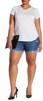 Jolt Distressed Short (Plus Size)