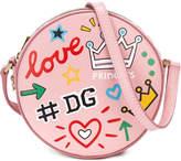 Dolce & Gabbana scribble-print shoulder bag