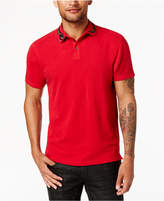 INC International Concepts Men's Embroidered-Collar Polo, Created for Macy's