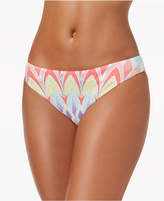 Bar III Starburst Printed Cheeky Hipster Bikini Bottoms, Created for Macy's