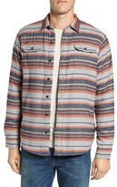 Tailor Vintage Men's Flannel Shirt With High-Pile Fleece Lining