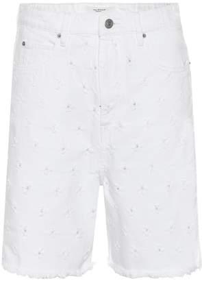Etoile Isabel Marant Isabel Marant, étoile Liny distressed denim shorts