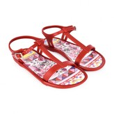 Girls Red Majolica Sandals