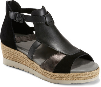 Earth Modena Jasmine Suede Wedge Sandal