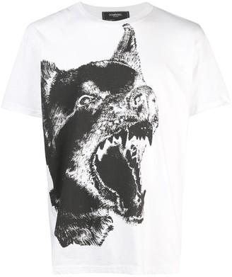 Dom Rebel DOMREBEL Dogg print T-shirt