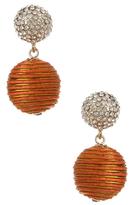 Amrita Singh Sari Pom Pom Statement Earrings