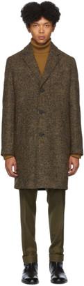 HUGO Beige Wool Malte 1941 Coat