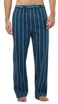 Red Herring Turquoise Striped Pyjama Bottoms