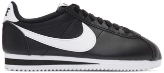 Nike Black Classic Cortez Sneakers