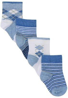 M&Co Argyle socks four pack