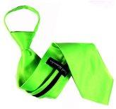 Buy Your Ties Mens Solid Color Zipper Necktie