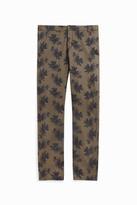 Paul & Joe Floral-Print Straight-Leg Trousers