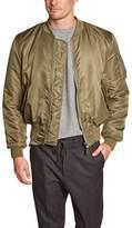 Merc of London Men's Varsity Long sleeve Jacket - -