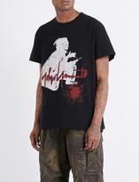 Yohji Yamamoto Samurai cotton-jersey T-shirt