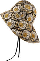 Gucci Wide-brim tartan hat