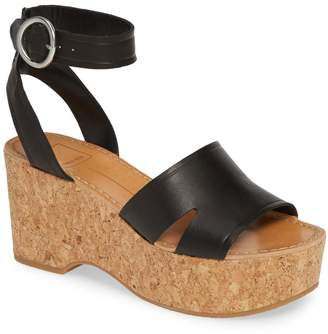 Dolce Vita Linda Cork Platform Sandal