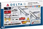Daron Worldwide Trading Delta Delta 30 Piece Airport Play Set