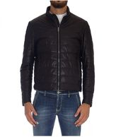 Tod's Padded Leather Jacket