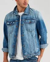 7 For All Mankind Trucker Jacket In Redemption