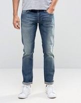 Nudie Jeans GrimTim Slim Jeans Dark Crispy Worn